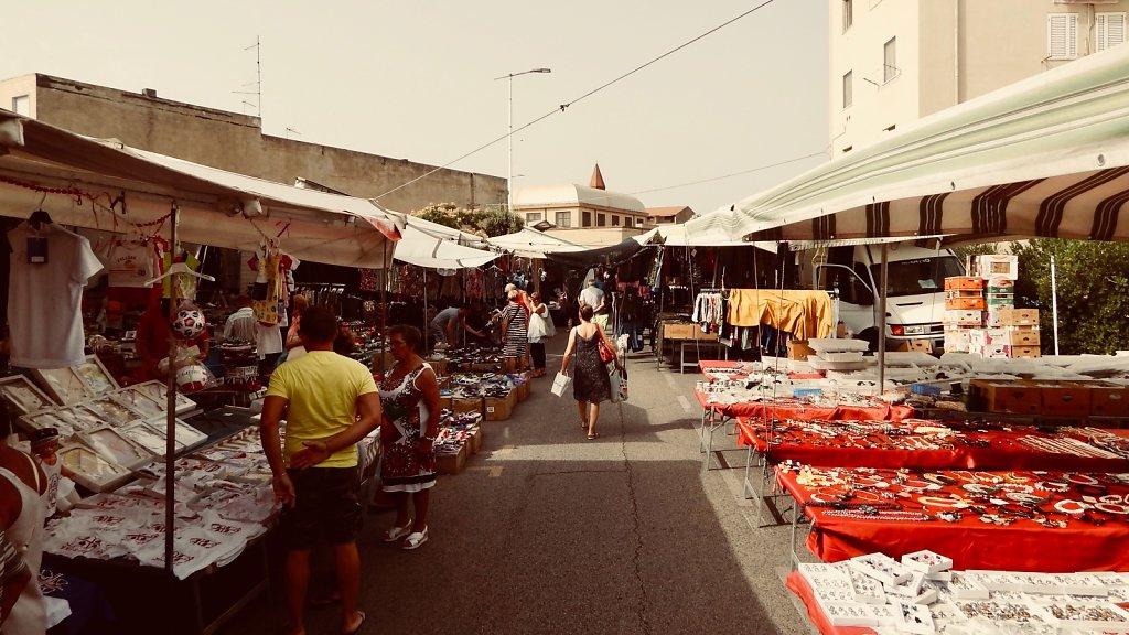 Markt in Carbonia